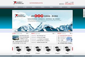 南京拓品微电子有限公司-网站建设案例
